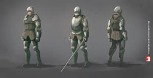 Medieval knight - armor design