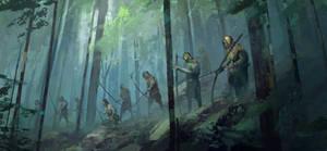 Elven commando by QuintusCassius