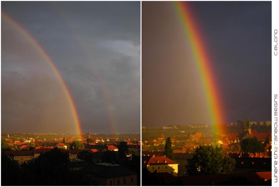 where the rainbow begins by Catjuschka