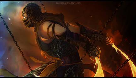 Mortal Kombat Scorpion FanArt