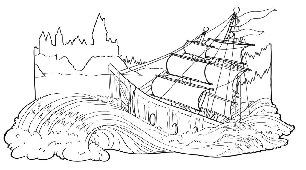 Harry Potter Goblet Of Fire Ch15 Line Comp By Arachnicolor On Deviantart Battle other pirate ships in the skyway with intense powers and cannons. harry potter goblet of fire ch15 line