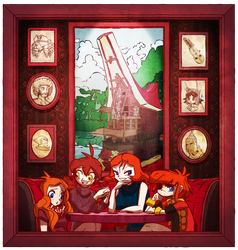 Redheads' Reunion by apostlebird