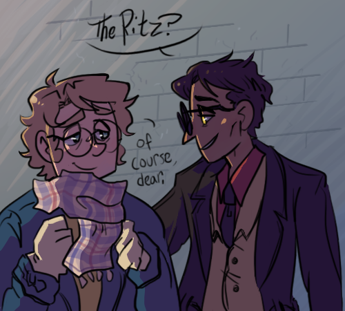 Lets go to The Ritz by keysandtoffee