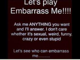 Embarrass Me by Earwiggy
