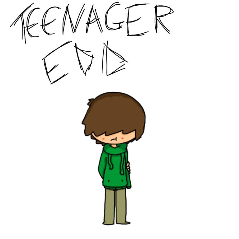 TEENAGER EDD by EddisAWESOME