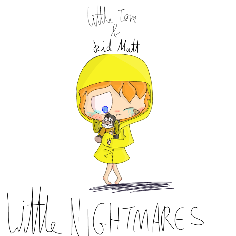 Little nightmares kid Matt by EddisAWESOME