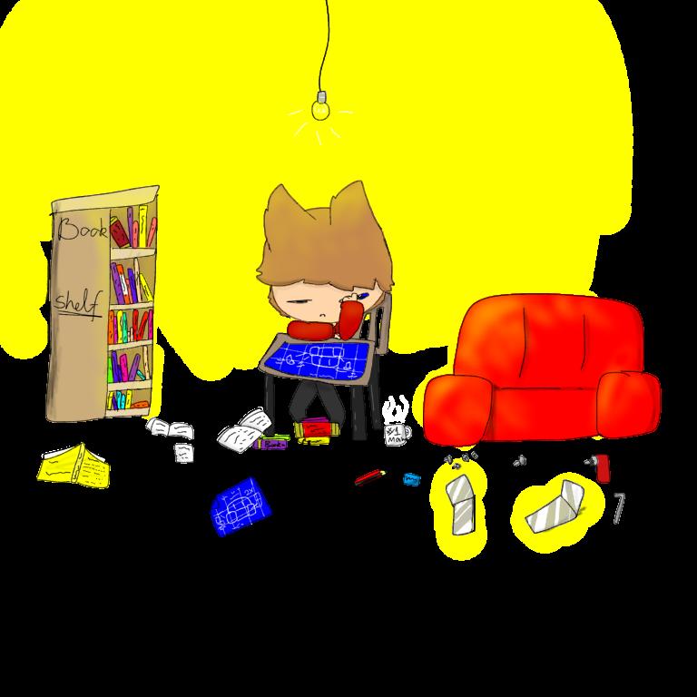 Tord falls asleep by EddisAWESOME