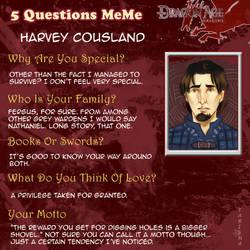 5 Questions Meme - Harvey