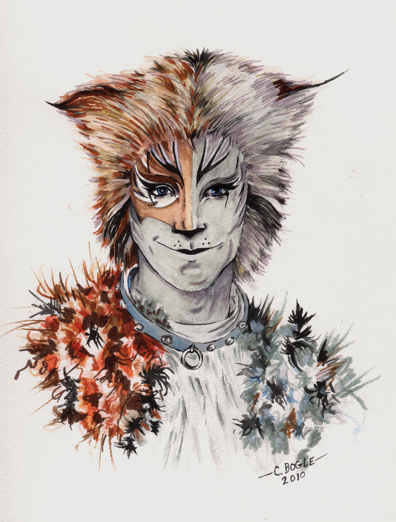 Jellicle cats makeup