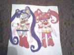 Aleena and Sonia in Sailor Moon