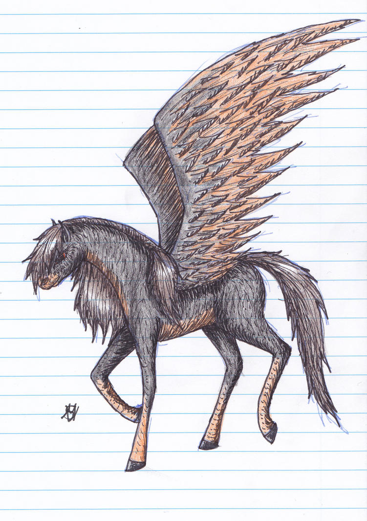 Black Stallion by Samantha-8
