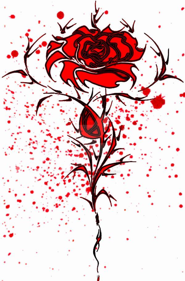 blood red rose by redrosedancer29 on deviantart