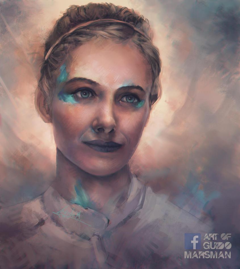 Portrait study by Lolzdui