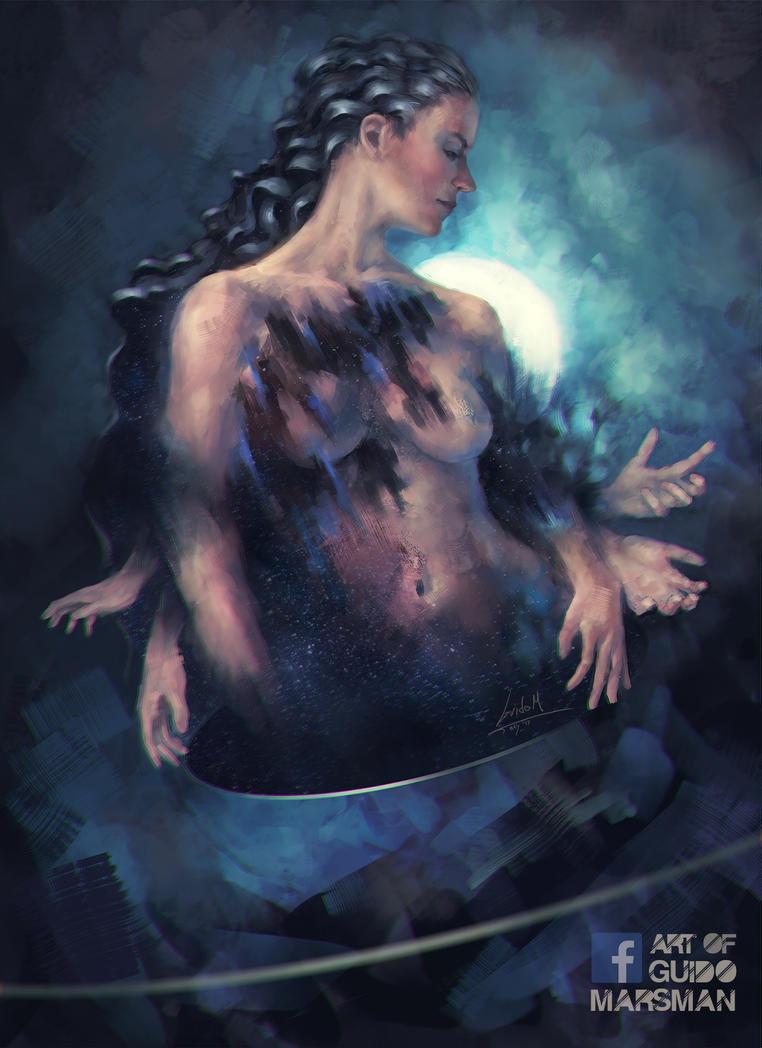 Moon Priest by Lolzdui