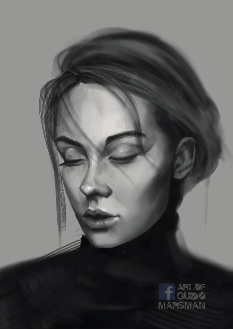 Portrait practice by Lolzdui