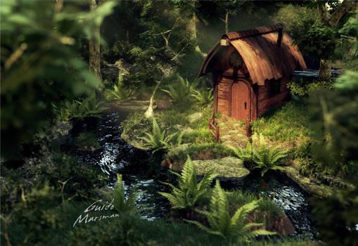 Nature's cabin