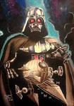 Darth Vader's portrait