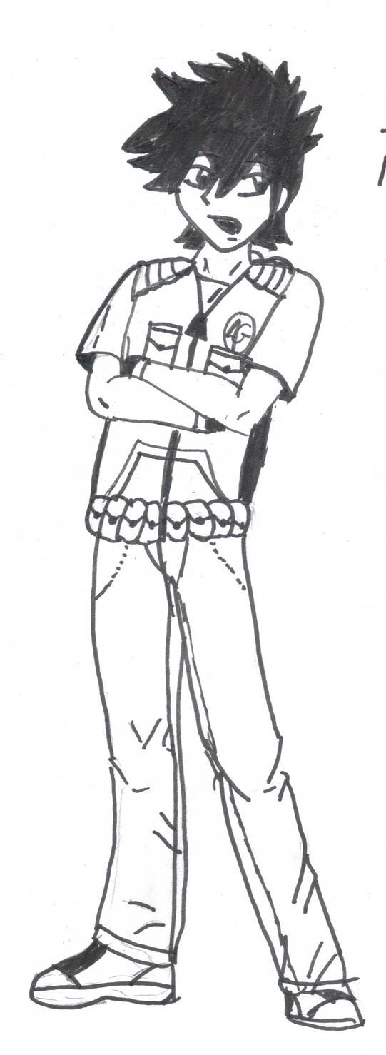 Shuuya: Vest Reff. by Inuryan