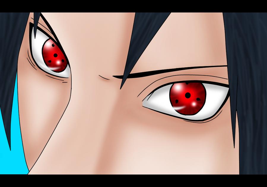 how to draw sasuke with sharingan