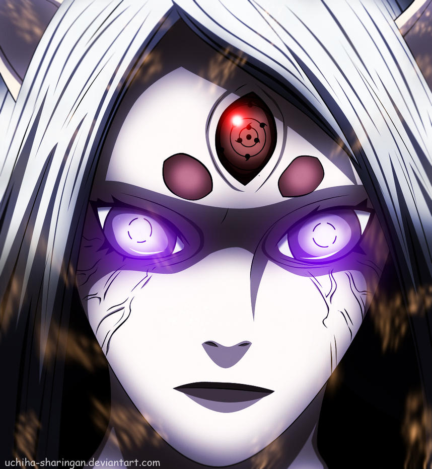 The Demon Reborn  Kaguya Otsutsuki by uchiha-sharingan