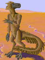 Alien Landscape - Detail