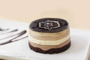 Chocolate Mousse Cake by aclumsyclover