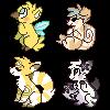 pixel cuties by catblush