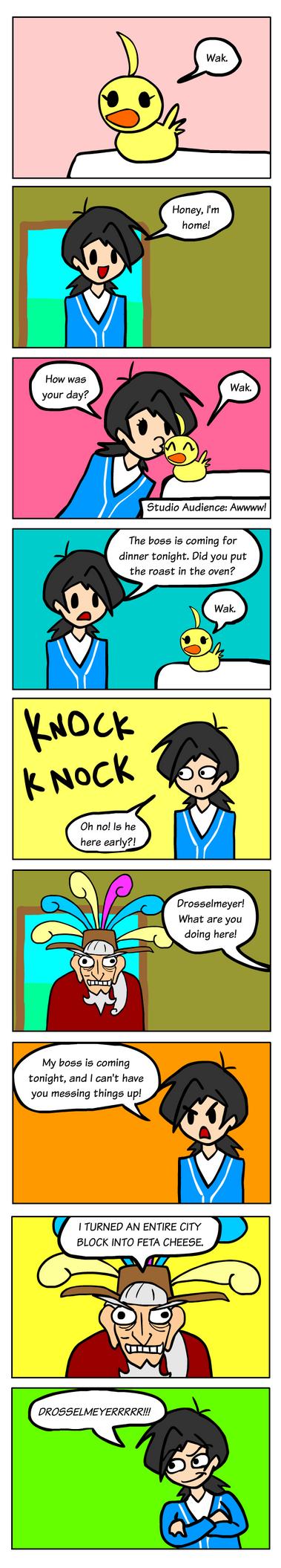 I Love Duck by Okk