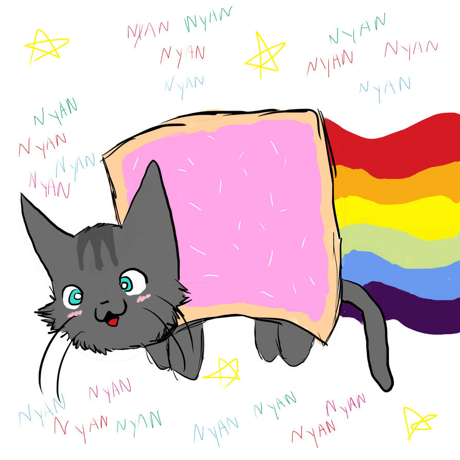 NYAN CAT By KikiwasHEREagain On DeviantArt
