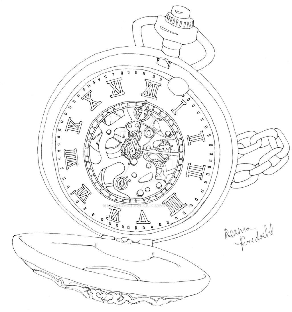 Pocket Watch by deannapredoehl on DeviantArt