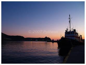 Myrina Port by Pytheas