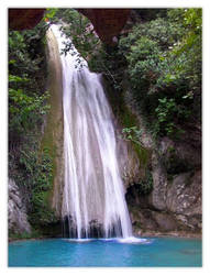 Waterfall at Messinia, Greece by Pytheas