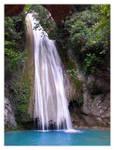 Waterfall at Messinia, Greece