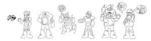 The Robot Masters, Mega Man 2