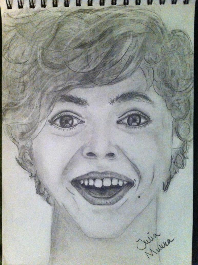 Portrait of Harry Styles by JuliaMukka