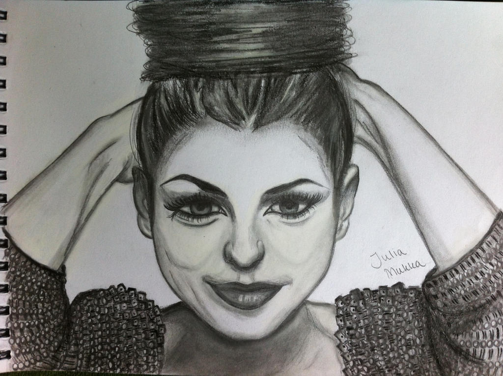 Portrait of Cher Lloyd by JuliaMukka