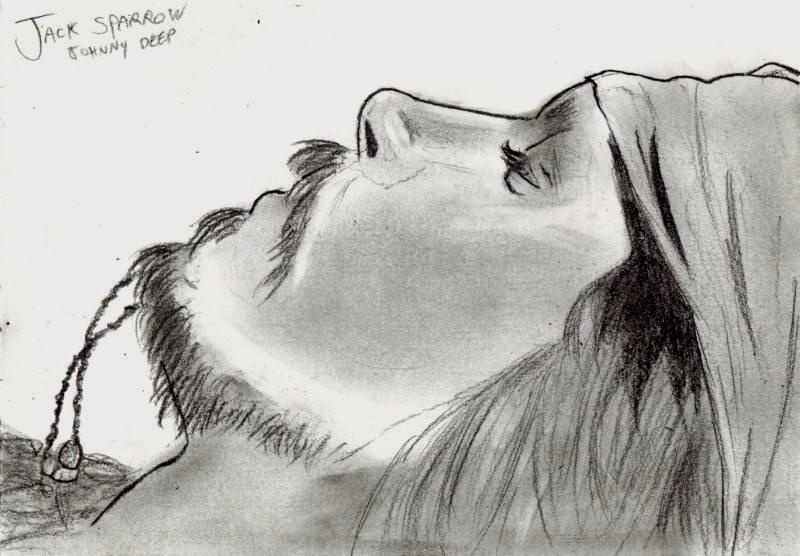 Jack Sparrow Drawing By Majinbb On Deviantart