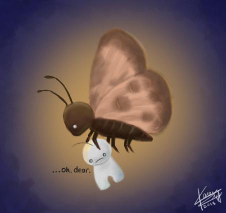A Moth's Revenge by Karehn