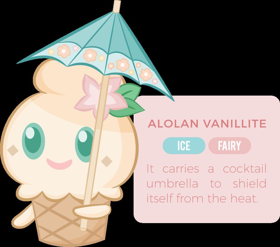 Alolan Vanillite by Karehn