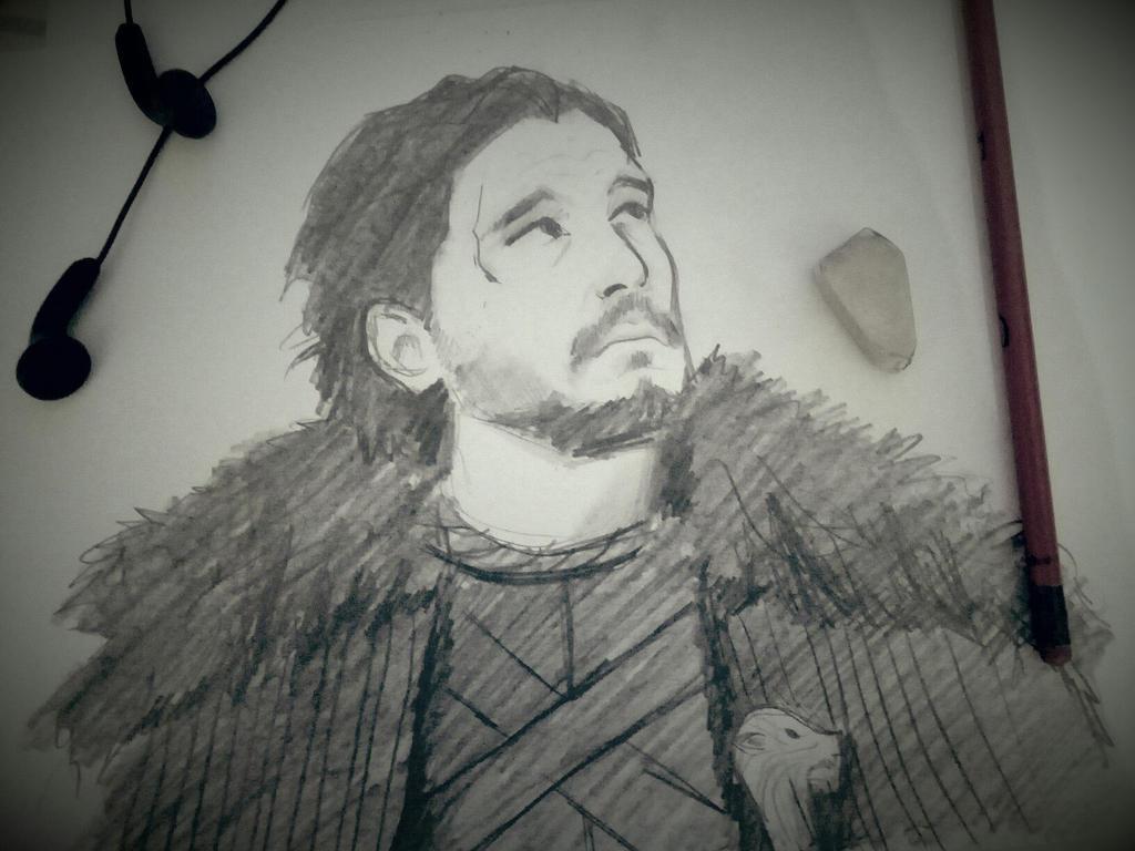 Jon quick sketch by DameALana