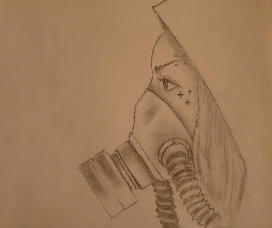 Gas mask girl! by sandstrom91 on DeviantArt