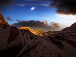 Galaxy Peak by moodflow