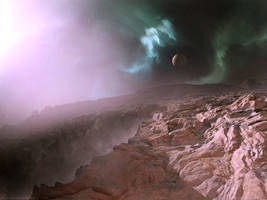 Crater Fog 2 by moodflow