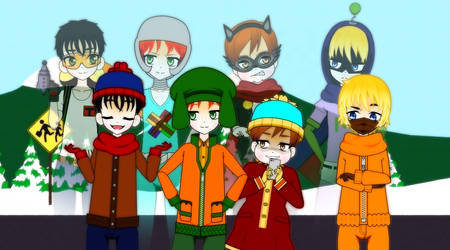 ''THE PROTAGONISTS'' [SOUTH PARK]