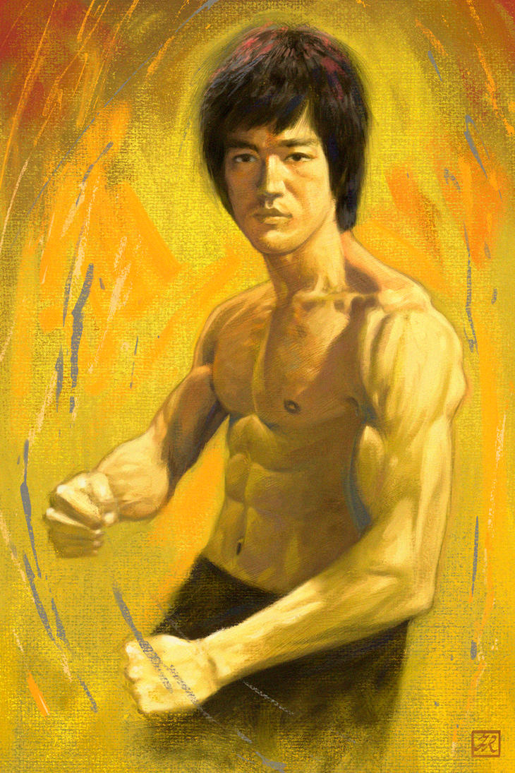 Bruce Lee tribute by FrankVenice