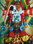 Aztec Priest, AD 1500