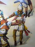Dancer, AD 450-750, North Coast, Peru