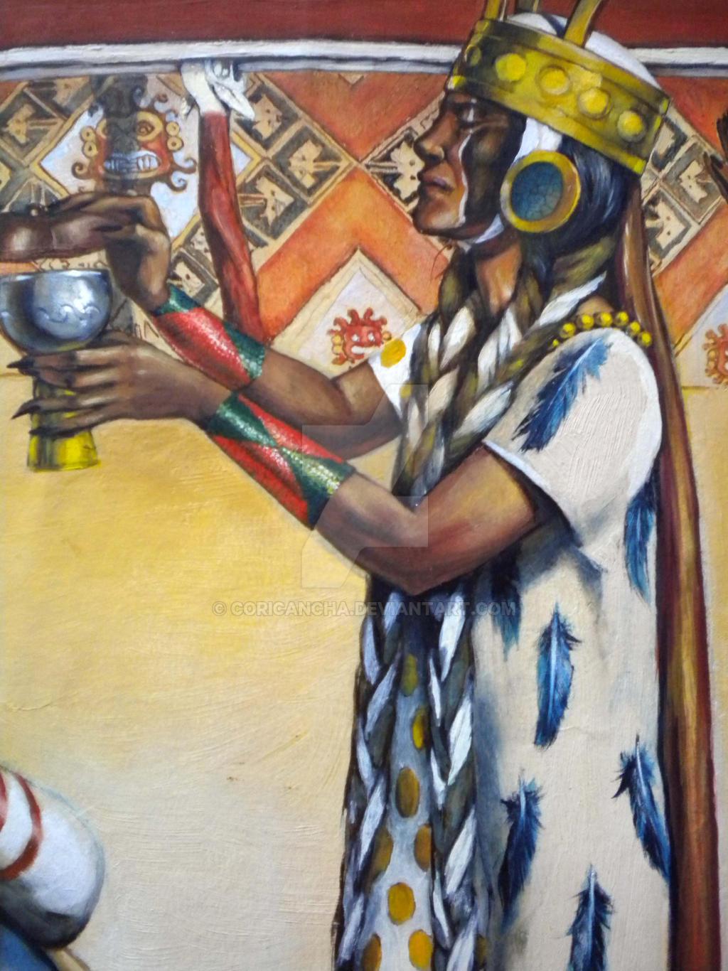 Priestess, North Coast, Peru, AD 450-750