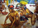 Shamaness of Ometepe Island, Nicaragua, AD 500