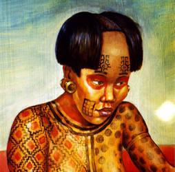 Galo Lady, Costa Rica, AD 400